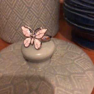 Sterling Silver Jewelry - 🦋NWT: 925 Sterling Silver & Moonstone Butterfly🦋